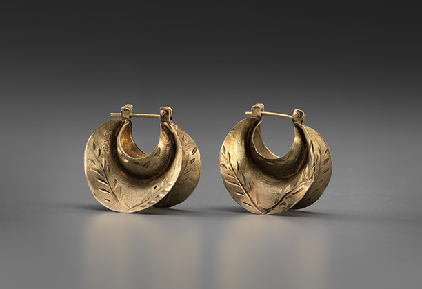 Gold Jewelry, Earrings